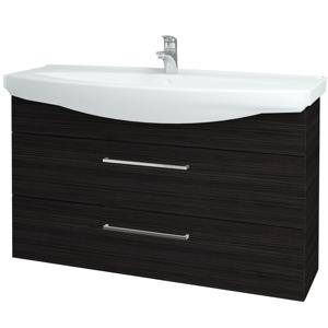 Dřevojas Koupelnová skříň TAKE IT SZZ2 120 D14 Basalt / Úchytka T04 / D14 Basalt 151423E