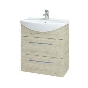 Dřevojas Koupelnová skříň TAKE IT SZZ2 65 D05 Oregon / Úchytka T03 / D05 Oregon 133788C