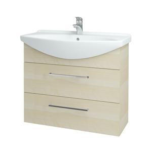 Dřevojas Koupelnová skříň TAKE IT SZZ2 85 D02 Bříza / Úchytka T04 / D02 Bříza 134044E