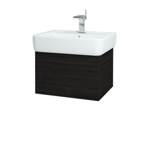 Dřevojas Koupelnová skříň VARIANTE SZZ 60 D14 Basalt / D14 Basalt 165444