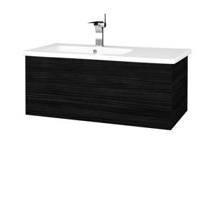 Dřevojas Koupelnová skříň VARIANTE SZZ 90 (umyvadlo Euphoria) D14 Basalt / D14 Basalt 189594