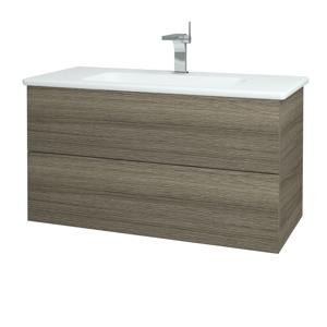 Dřevojas Koupelnová skříň VARIANTE SZZ2 100 (umyvadlo Euphoria) D03 Cafe / D03 Cafe 160630