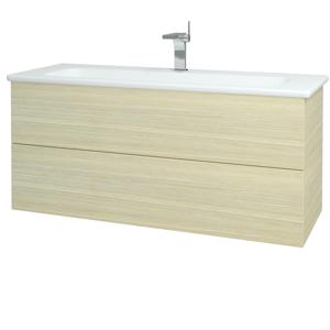 Dřevojas Koupelnová skříň VARIANTE SZZ2 120 (umyvadlo Euphoria) D04 Dub / D04 Dub 161200