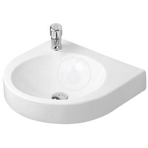 DURAVIT Architec Umyvadlo bez přepadu, 575 mm x 520 mm, bílé bezotvorové umyvadlo 0449580000