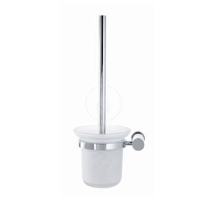 DURAVIT D-Code WC štětka nástěnná, matné sklo/chrom 0099271000