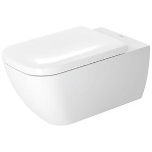 DURAVIT Happy D.2 Závěsné WC, Rimless, alpská bílá 2550090000