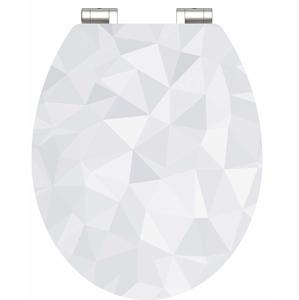 Eisl Wc sedátko Diamond MDF HG se zpomalovacím mechanismem SOFT-CLOSE 80545Diamond