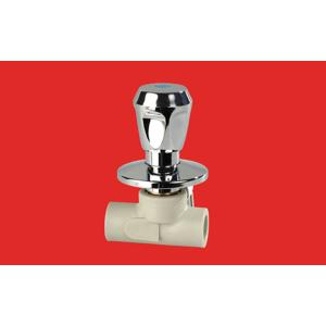FV Plast PPR ventil podomítkový 25 kohoutek chrom (Laguna) AA285025000 322025