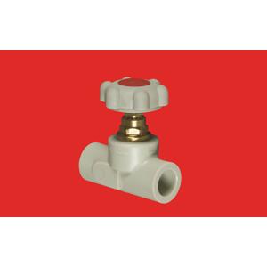 FV Plast PPR ventil přímý 25 s MOSAZNÝM vrškem a kolečkem AA274025000 304025