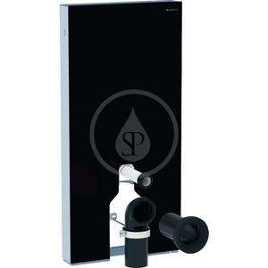 GEBERIT Monolith Plus Sanitární modul pro stojící WC, 101 cm, spodní přívod vody, černá 131.201.SJ.5