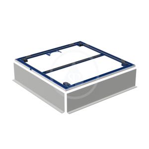 GEBERIT Setaplano Instalační rám pro sprchové vaničky do 1000 mm, pro 4 nohy 800x800 mm 154.460.00.1