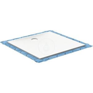 GEBERIT Setaplano Plochá sprchová vanička, 1000x1400 mm, minerální materiál, Antislip, alpská bílá 154.284.11.1