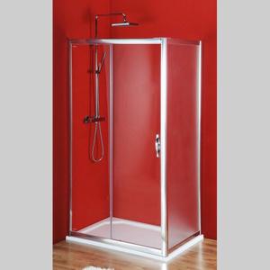 GELCO Sigma obdélníkový sprchový kout 1300x700mm L/P varianta, dveře čiré, bok Brick SG1243SG3677