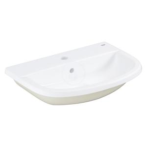 GROHE Bau Ceramic Umyvadlo nábytkové 560x400 mm, s 1 otvorem pro baterii, alpská bílá 39422000