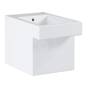 GROHE Cube Ceramic Stojící bidet s přepadem, PureGuard, alpská bílá 3948700H