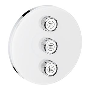 GROHE Grohtherm SmartControl Ventil pod omítku pro 3 spotřebiče, měsíční bílá 29152LS0
