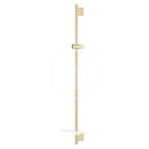 GROHE Rainshower SmartActive Sprchová tyč s poličkou, 900 mm, kartáčovaný Cool Sunrise 26603GN0