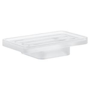 GROHE Selection Cube Miska na mýdlo, daVinci saténová bílá 40806000