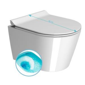 GSI KUBE WC závěsné, splachování SWIRLFLUSH, 46x35 cm, ExtraGlaze 941811
