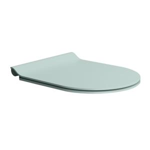 GSI WC sedátko SLIM soft close, duroplast, ghiaccio mat/chrom MS86CSN15