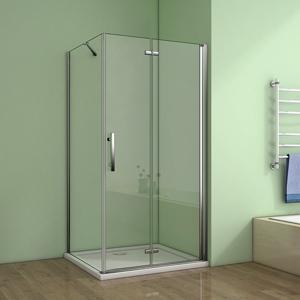 H K Čtvercový sprchový kout MELODY 90x90 cm se zalamovacími dveřmi, výplň sklo grape SE-MELODYB89090-19