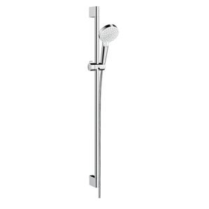 HANSGROHE Crometta Sprchová souprava Vario 100, 2 proudy, sprchová tyč 900 mm, bílá/chrom 26536400