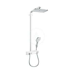 HANSGROHE Raindance Select E Sprchový set Showerpipe 360 s termostatem ShowerTablet Select 300, bílá/chrom 27288400