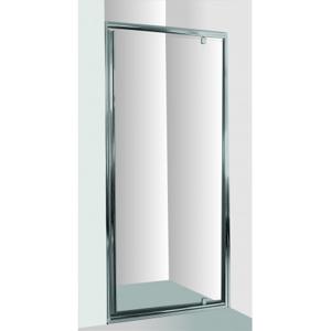 HOPA Sprchové dveře do niky SMART ALARO 90 cm, 190 cm, Univerzální, Hliník chrom, Grape bezpečnostní sklo 6 mm OLBALA90CGBV