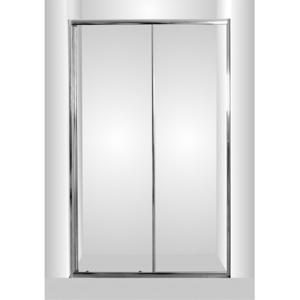 HOPA Sprchové dveře do niky SMART SELVA 100 cm, 190 cm, Univerzální, Hliník chrom, Grape bezpečnostní sklo 6 mm OLBSEL10CGBV