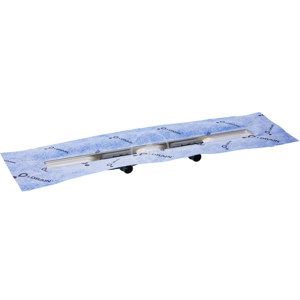 I-Drain Linear 72 Nerezový sprchový žlab, délka 900 mm, dvojsifonový s hydroizolací ID5M09002X1