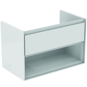 IDEAL STANDARD Connect Air Skříňka pod umyvadlo, 800x440x517 mm, lesklá bílá/bílá mat E0827B2