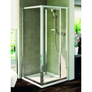 IDEAL STANDARD Connect Pevná boční stěna 70 cm, matné sklo, silver bright (lesklá stříbrná) T9916EO
