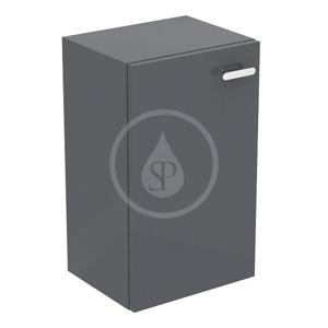 IDEAL STANDARD Connect Space Postranní skříňka 300x242x500 mm, lesklá středně šedá E0373KR