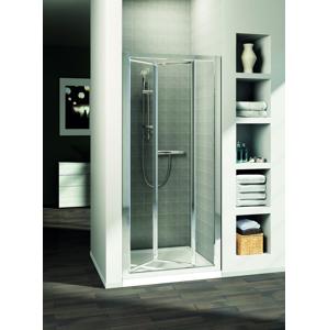 IDEAL STANDARD Connect Sprchové dveře skládací 100 cm matné sklo, silver bright (lesklá stříbrná) T9864EO