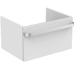 IDEAL STANDARD Tonic II Skříňka pod umyvadlo 600x440x350 mm, lesklá bílá R4302WG