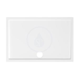 JIKA Padana Sprchová vanička, litý mramor, 1000x800x30 mm, bílá H2119340000001