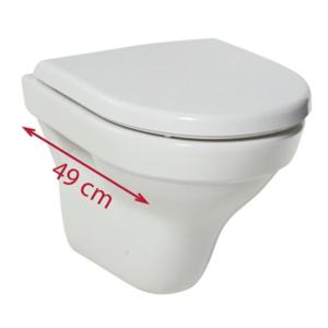 JIKA Tigo Závěsné WC, TotalClean, bílá H8202130000001