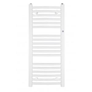 Koupelnový radiátor OMEGA R 500 × 915 mm, výkon 436 W, Bílé RADOME509035