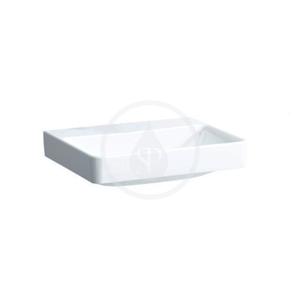 Laufen Pro S Umyvadlo, 600x465 mm, bez otvoru pro baterii, bez přepadu, bílá H8169630001421