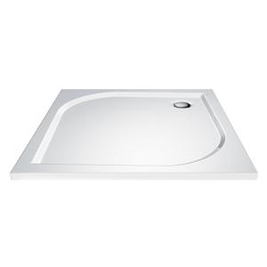 LaVilla sprchová vanička čtverec 800 x 800 x 30 bílá BEZ nožiček LA2212080080