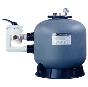 Lorema Filtrační nádoba 703 mm, max.19,2 m3/h., 6-ti cestný boční ventil 300025