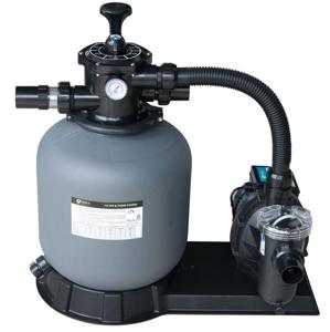 Lorema Kompletní písková filtrace s čerpadlem, max.11,1m3/h., 6-ti cestný ventil 300061