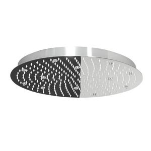 Lorema SLIM hlavová sprcha s RGB LED osvětlením, kruh 500 mm, nerez MS575-LED