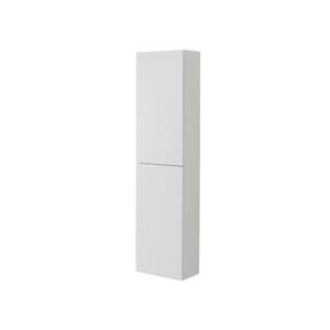 MEREO Aira, koupelnová skříňka, vysoká, pravé otevírání, bílá, 400x1570x220 mm CN714P