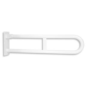 NOVASERVIS Úchyt dvojitý sklopný 572mm bílý R66550,11