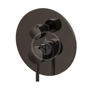 PAFFONI Light Exclusive Edition Baterie pod omítku pro 2 spotřebiče, černý nikl LIG018NKN