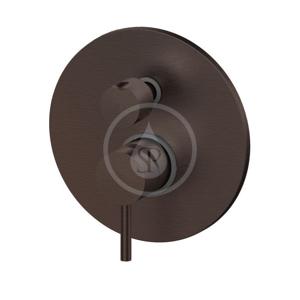 PAFFONI Light Exclusive Edition Baterie pod omítku pro 2 spotřebiče, kartáčovaný černý nikl LIG018NKNSP
