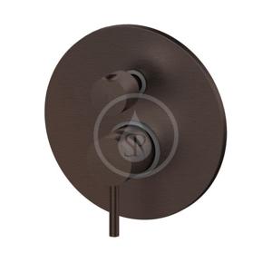 PAFFONI Light Exclusive Edition Baterie pod omítku pro 3 spotřebiče, kartáčovaný černý nikl LIG019NKNSP