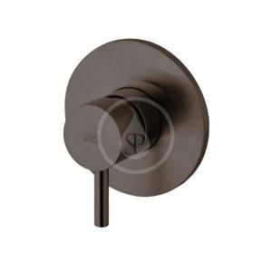 PAFFONI Light Sprchová baterie pod omítku s tělesem, černý mat LIG011NO
