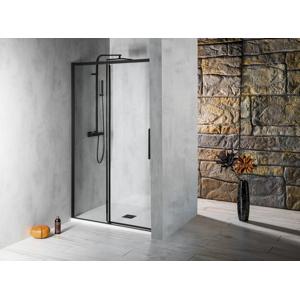 POLYSAN ALTIS LINE BLACK posuvné dveře 1170-1210mm, výška 2000mm, sklo 8mm AL3012B